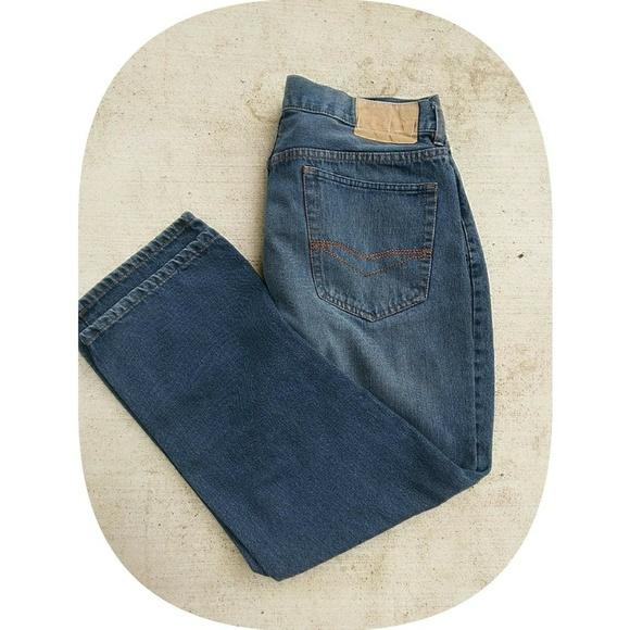 quality los angeles great quality ✨Price Drop✨Dark blue izod mens jeans